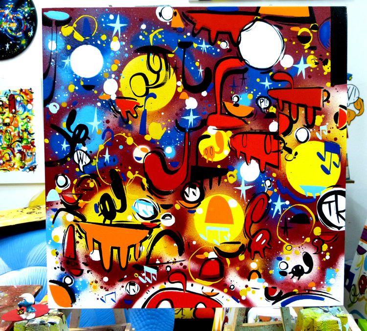 Title: Movimenti Di Colore Size - willow_art | ello