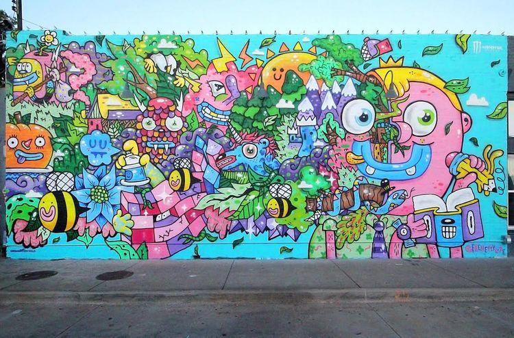 Imagine mural put Oklahoma City - frenemy | ello