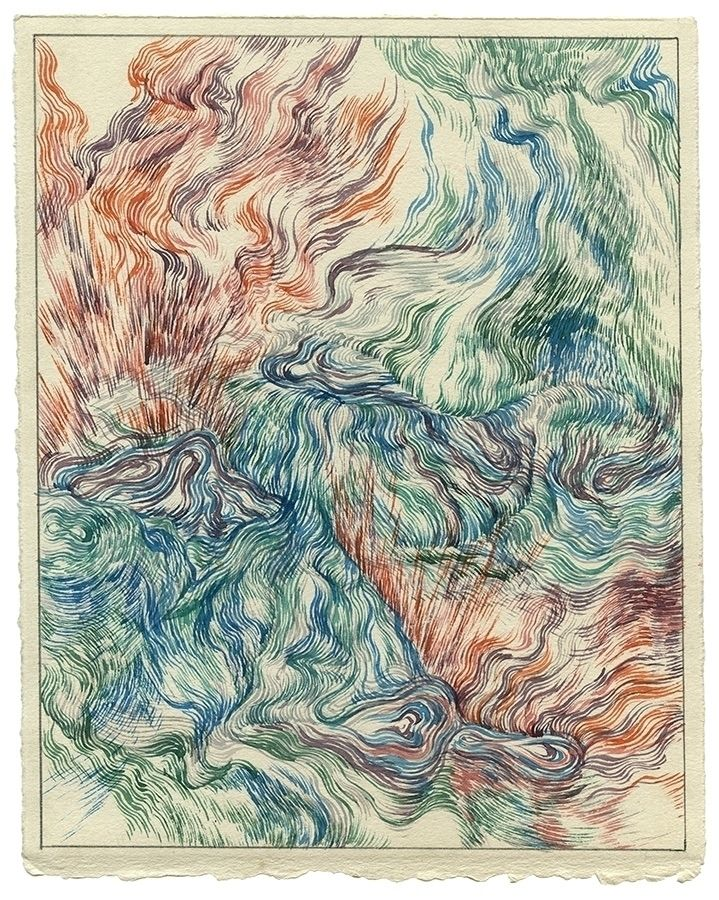 Cobalt Pools Watercolor paper,  - jacobvanloon   ello