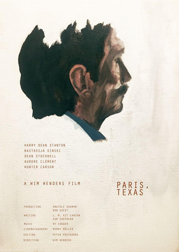 Paris, Texas (Wim Wenders 1984 - jamieansell | ello