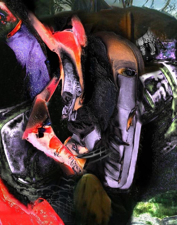 crux  - digital, texture, escape - escapescapes | ello