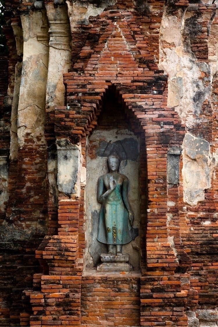 thailand, temple, ayutthaya, monastery - karlwong422   ello