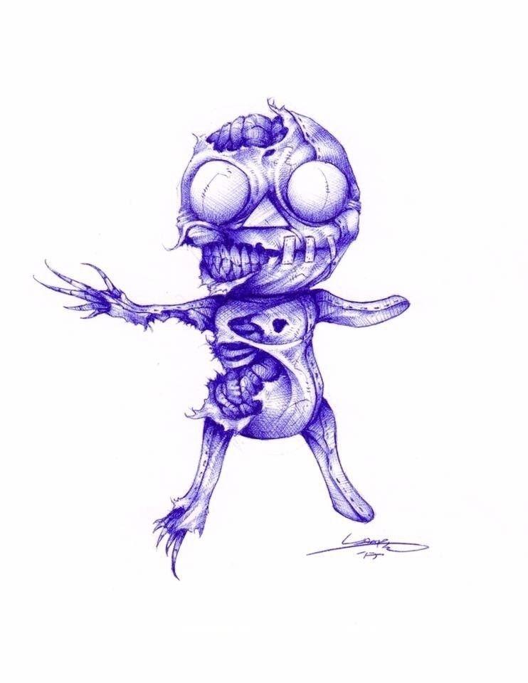 Zombie Granola - tlamph   ello