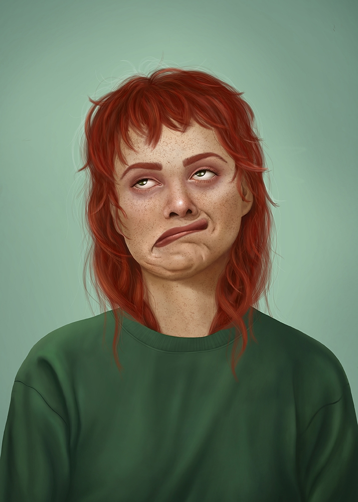 Monday. Digital painting 2018 - illustration - annicaklingspor   ello
