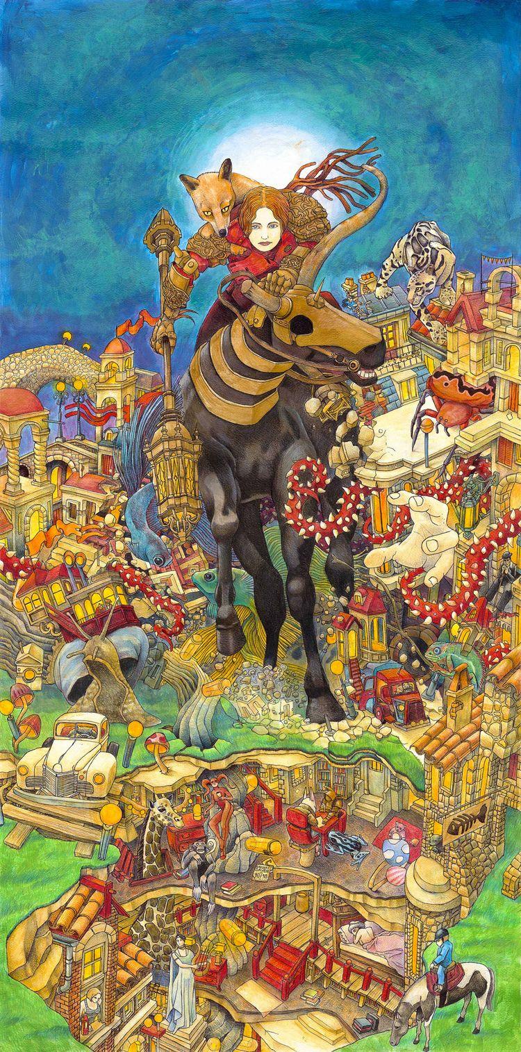 Vulpecula - illustration, Dessin - daygor | ello