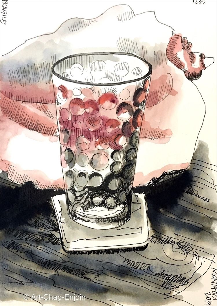1230 - Fragile sketches prompt  - artchapenjoin | ello