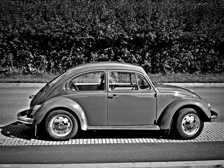 Classic - car, bw, vw - taari | ello