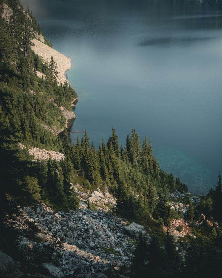 Snow Lake, June '18 - pnw - jkozy_ | ello