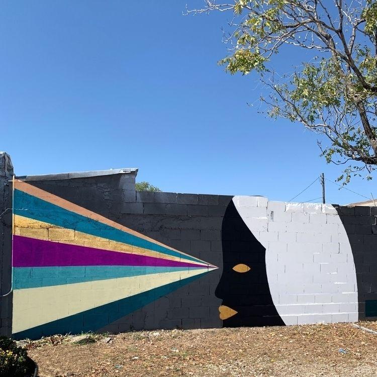Finished wall Wild West mural f - adrianlandonbrooks | ello