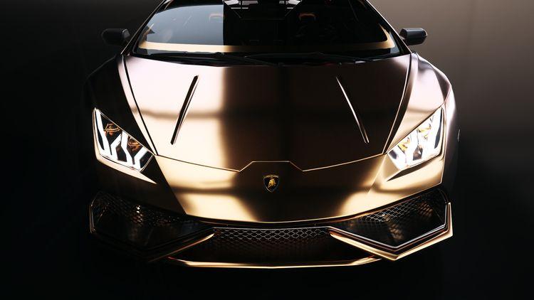 [21/10/2019] Golden Lamborghini - nicolaspapin | ello