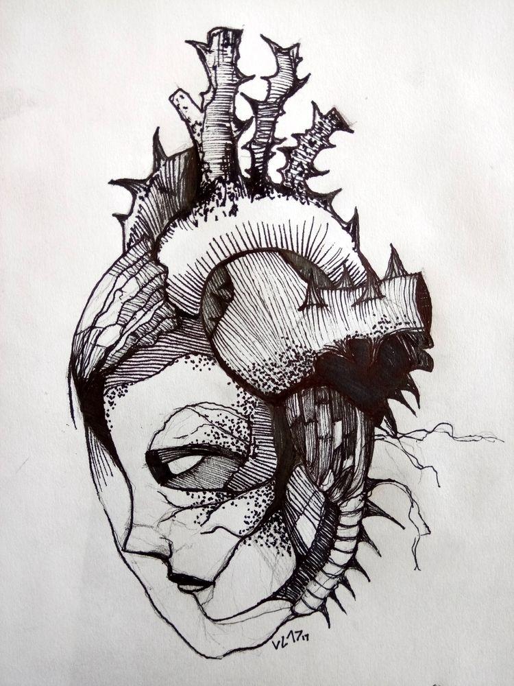 Hand drawing Technique: pencil  - vladimirdel | ello
