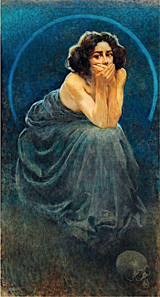 Silence, Giorgio Kienerk, 1900 - zorrojacques | ello