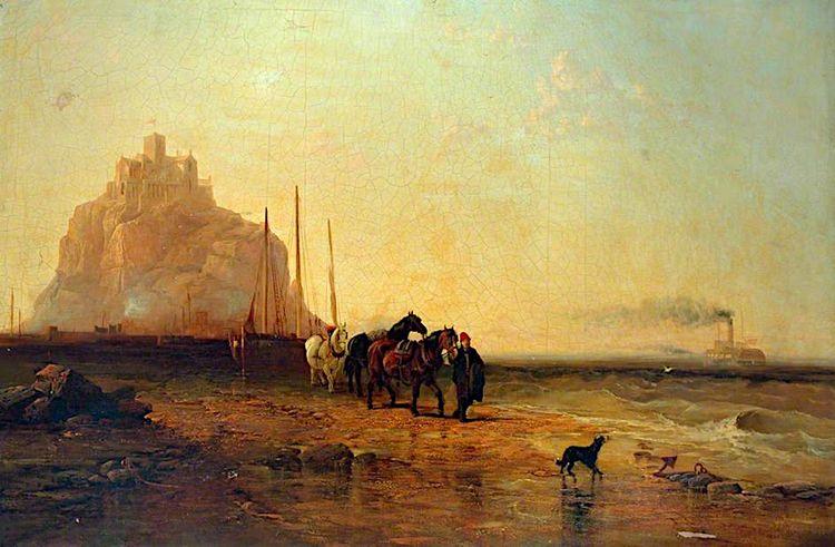 Evening St Mount, James Webb, 1 - zorrojacques   ello