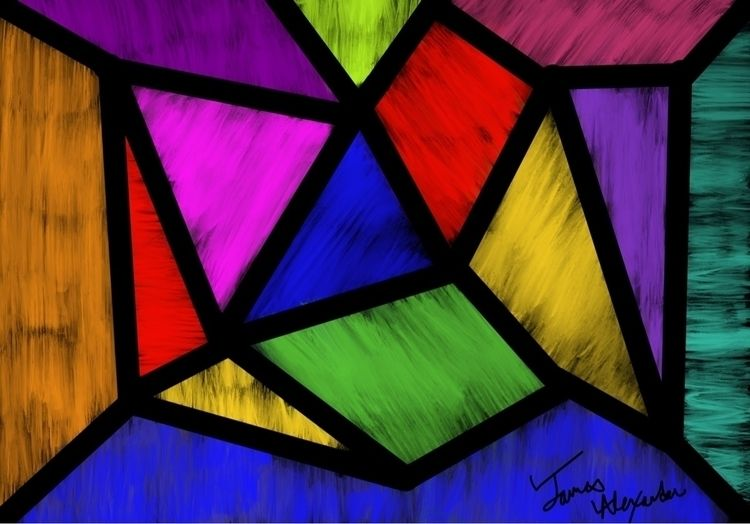 Inspired stained glass gothic f - jnoonan   ello