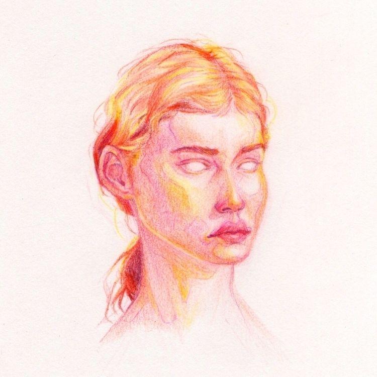 pencilcolor, sketch, sketchbook - toxina | ello