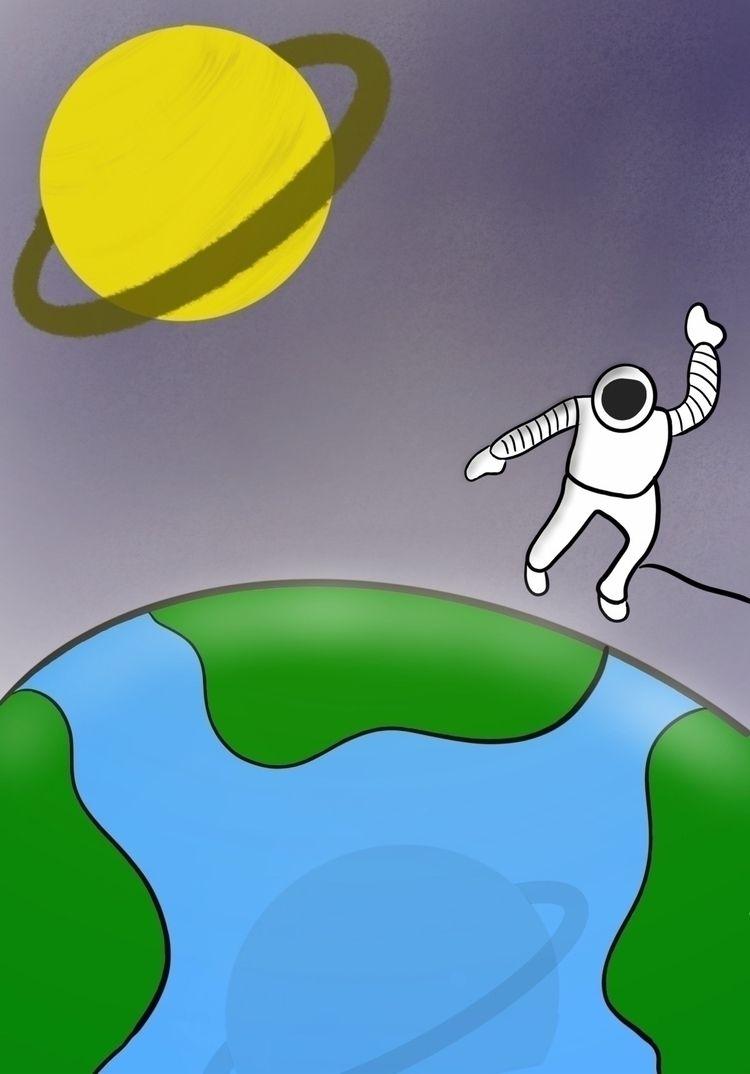 Earth space - irenetinchelli | ello