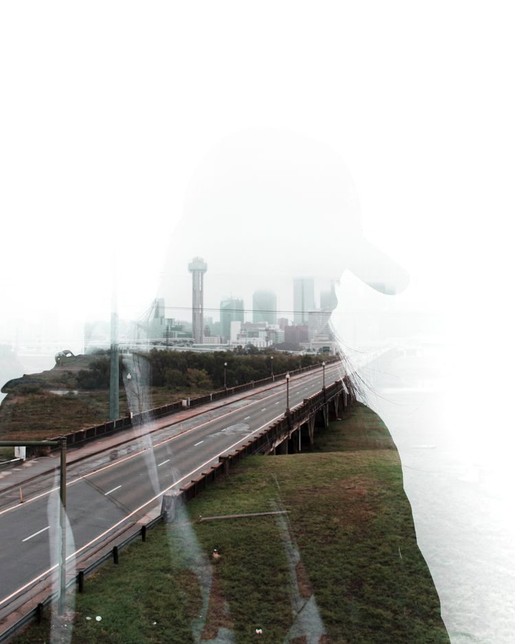 Rainy Days Dallas  - landscape, photoshoot - trinitytags | ello