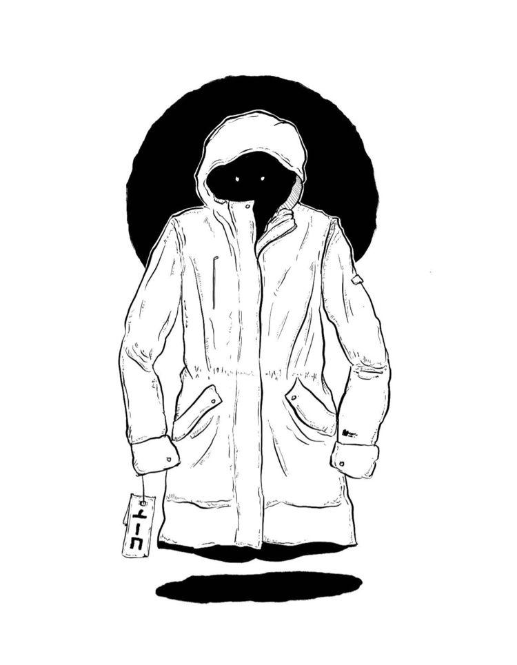 «coat» 27 //  - inktober2019, inktober - flatdrop | ello