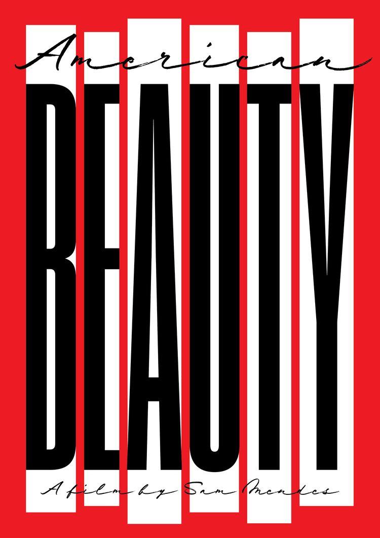 Film poster American Beauty (19 - sarahschrauwen | ello