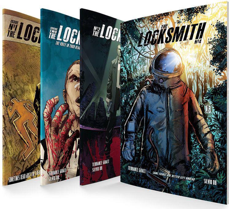 Locksmith 4: Left Undead Noir m - terrancegrace   ello