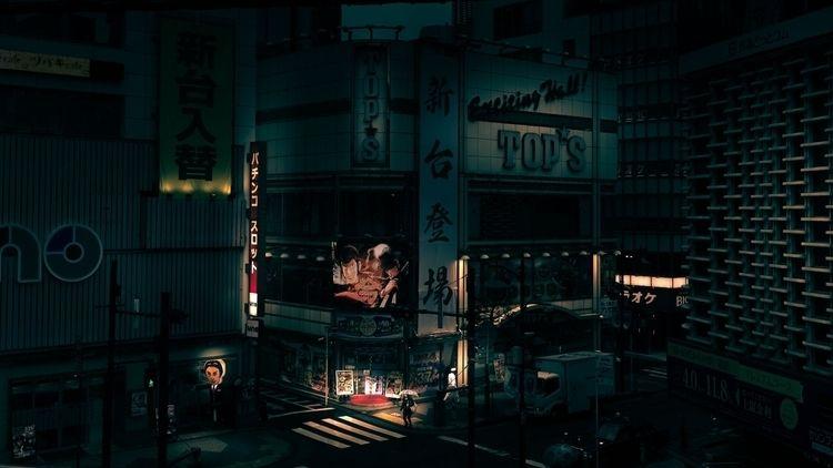 Tokyo image ongoing project. Vi - tomleighton | ello