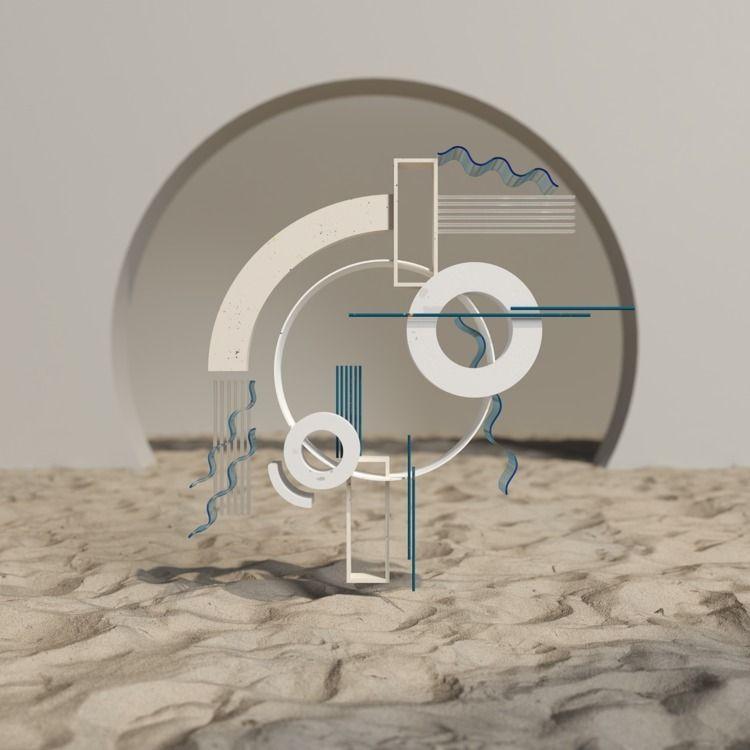 Cinema4D, Illustration, 3D, Octane - marcosegovia | ello