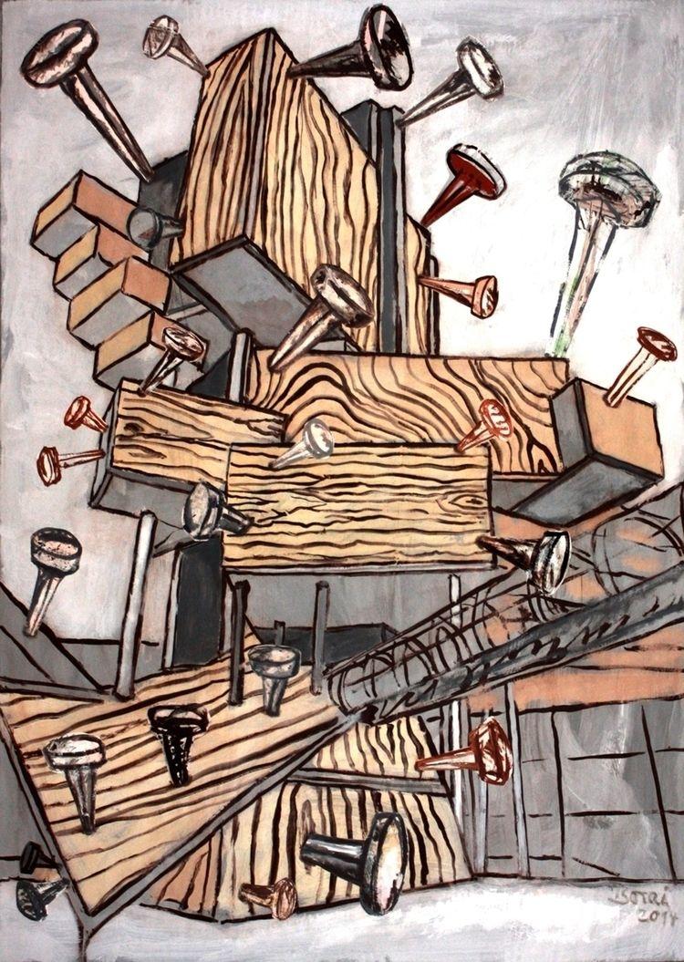 Nail Studios Wooden Shacks -Nag - boraistudio | ello
