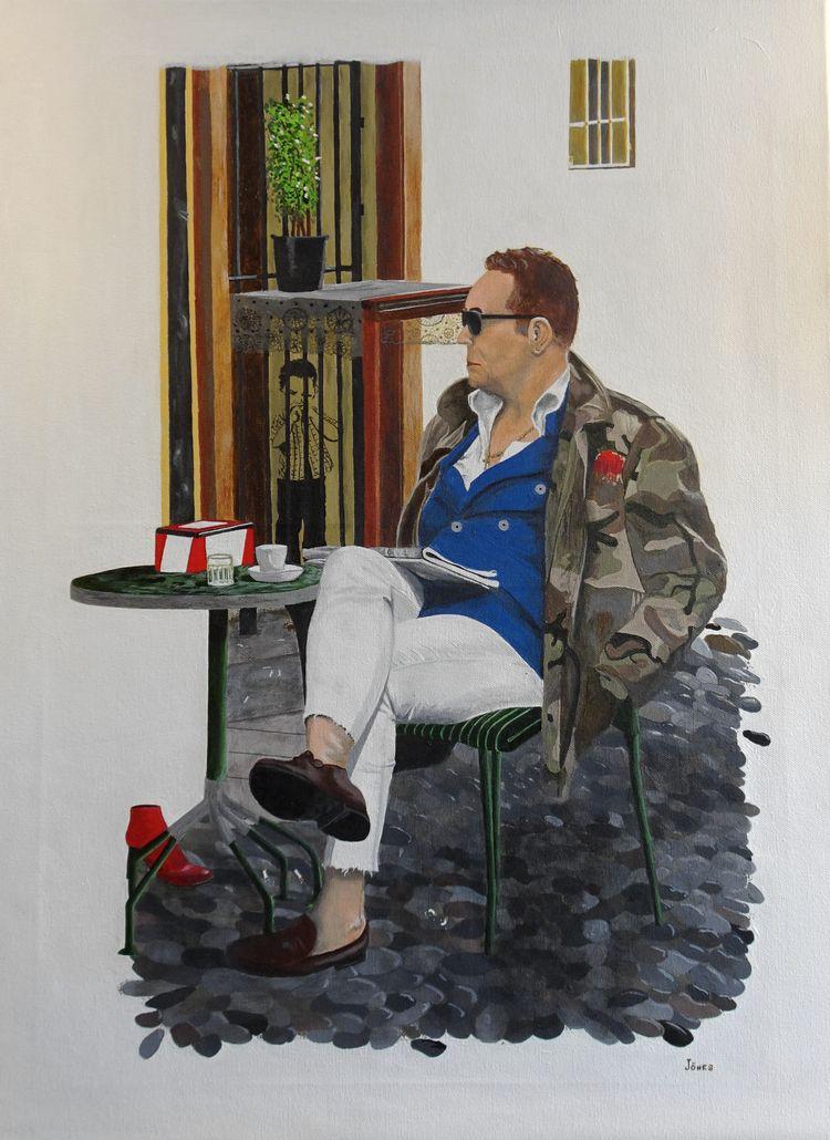 'Toro' acrylic canvas 46x61cm  - teragram1 | ello