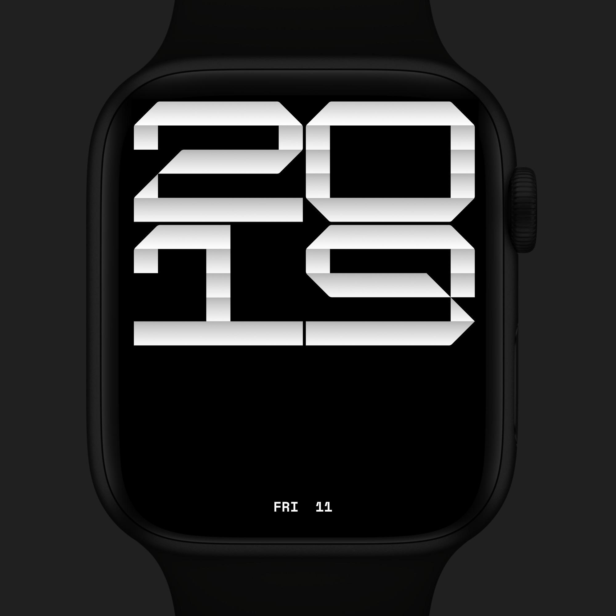 watch, typography - lundqvistdallyn | ello