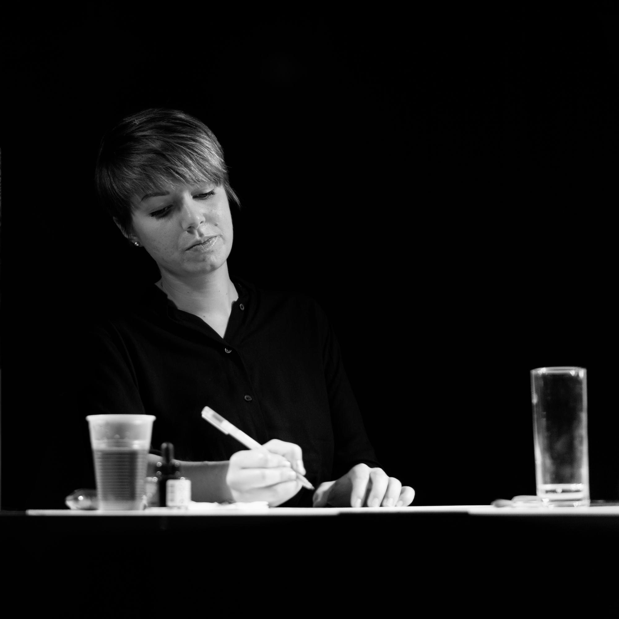 People work II Artist Hanna Wen - marcushammerschmitt   ello