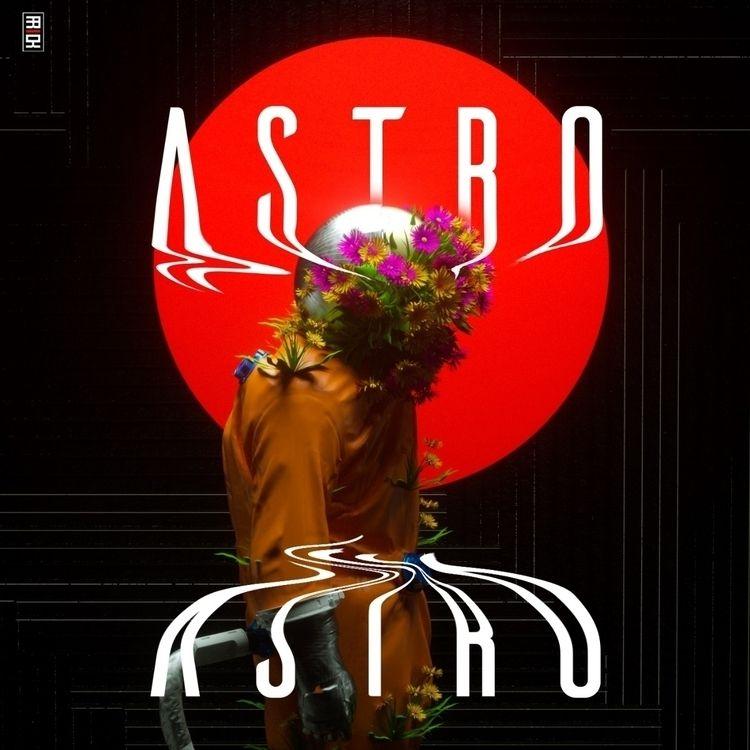 Astro - typograhy, 3d, trap, space - frickltd | ello