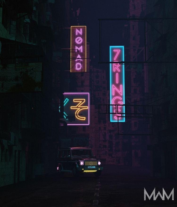 sweetener - 3d, cgi, cinema4d, elloartdigitalart - midwest_misfit | ello