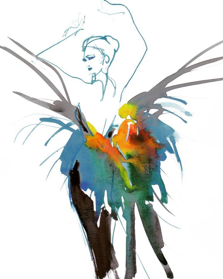 Love dress Thierry Mugler SS97  - michellepam | ello