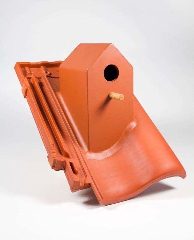 Birdhouse, created Klaas Kuiken - letsdesigndaily | ello