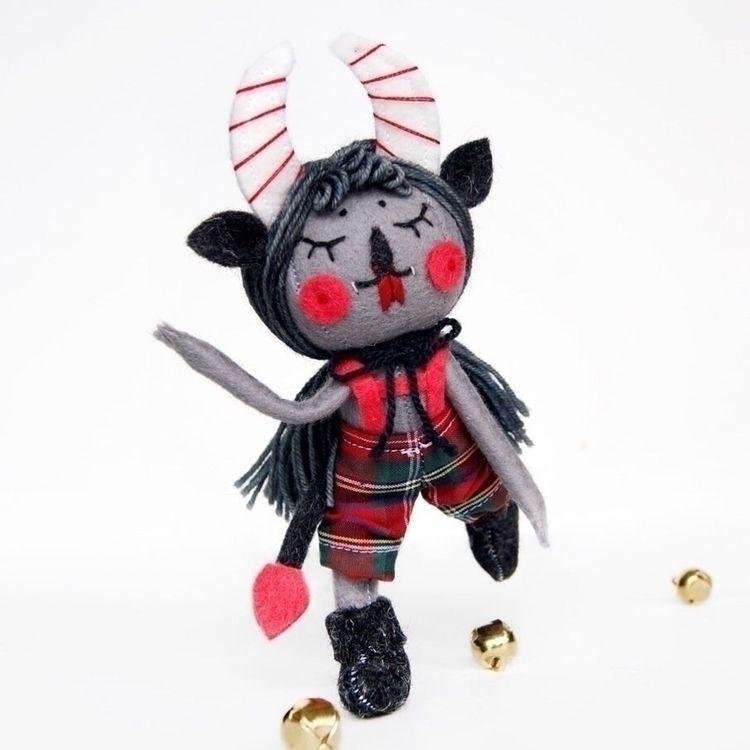 Gray mini Krampus doll! Preorde - nightlymade | ello