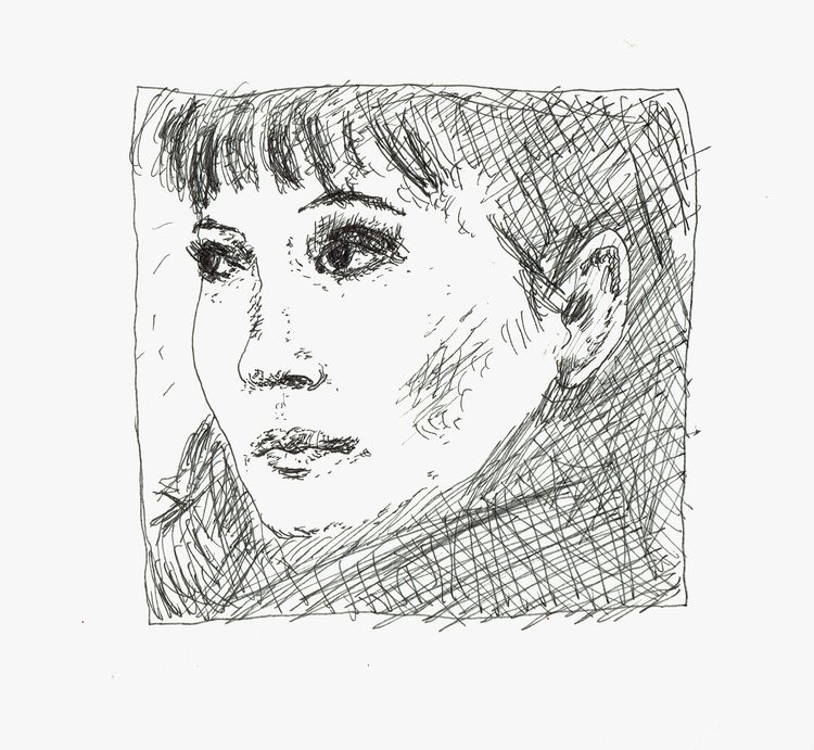 portrait, women, dessin, drawing - antoninguillot | ello