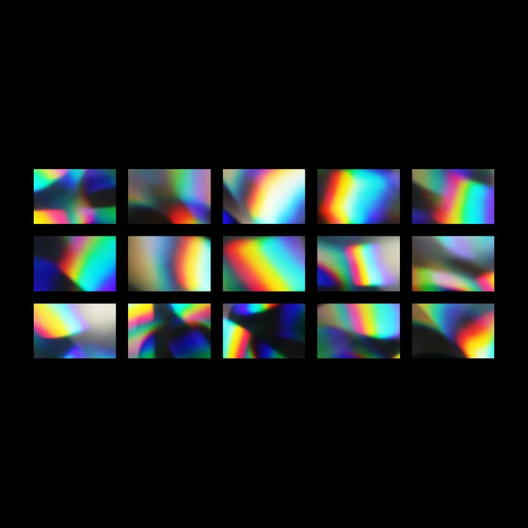 Holographic Textures Includes 1 - tuomodesign | ello