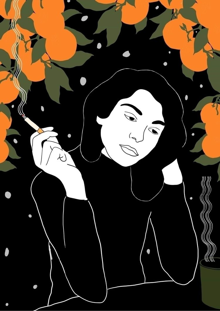 tunisia, orange, melancholia - tchangtchang | ello