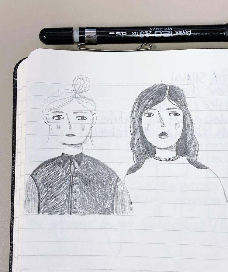 Lunch doodles - veroniquebenedictson | ello