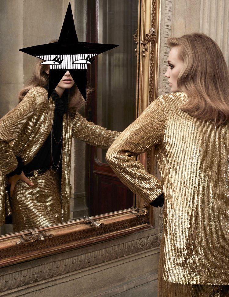 French Vogue - fashion, artist, mixedmedia - nadiaflower | ello