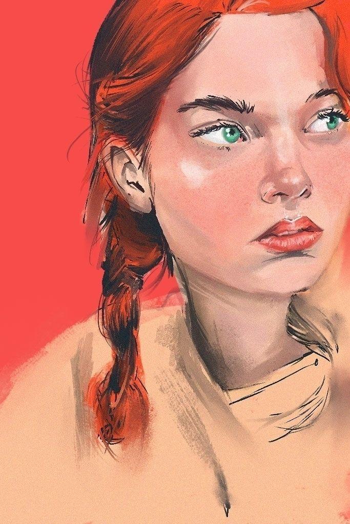 illustration, portrait, photoshop - douglasmoreira | ello