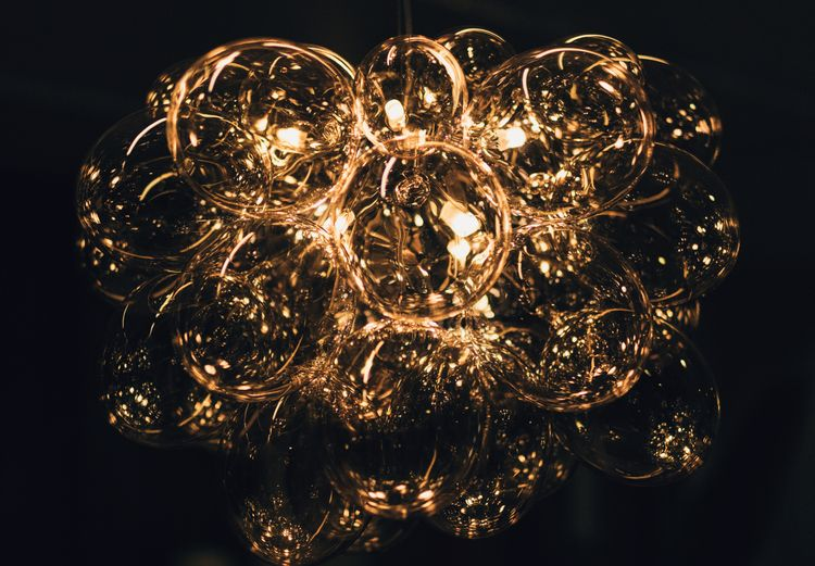 Golden Bulbs - bulb, bulbs, abstract - ilirtahiri | ello
