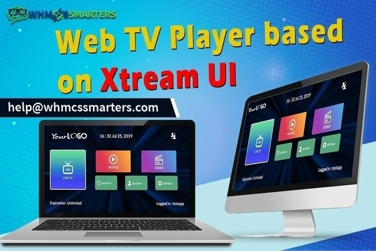 Web TV Player based Xtream UI I - iptvsmarters | ello