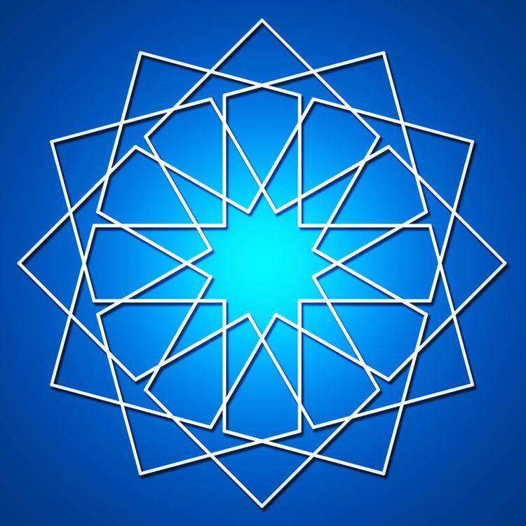 Islamic star pattern equations - tiago_hands | ello