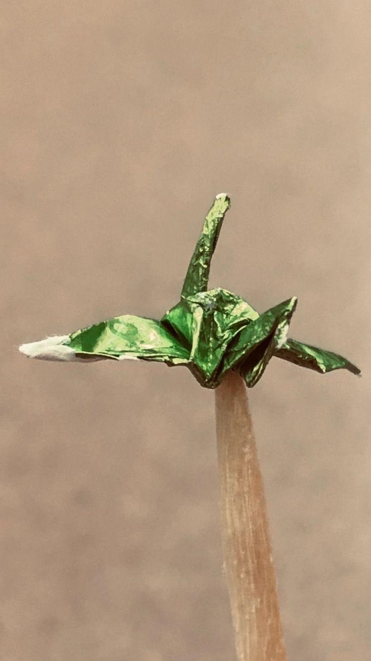 Paper crane toothpick - sktign | ello