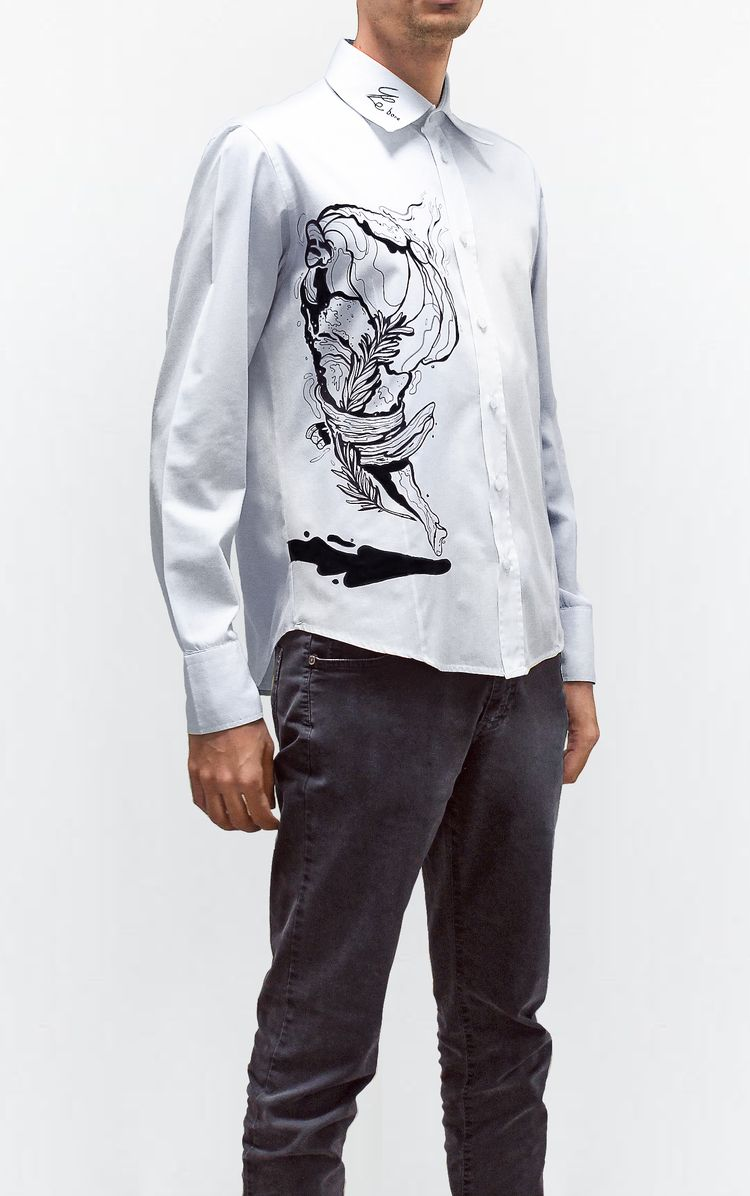 Hand decorated shirt. Limited e - stebore91 | ello
