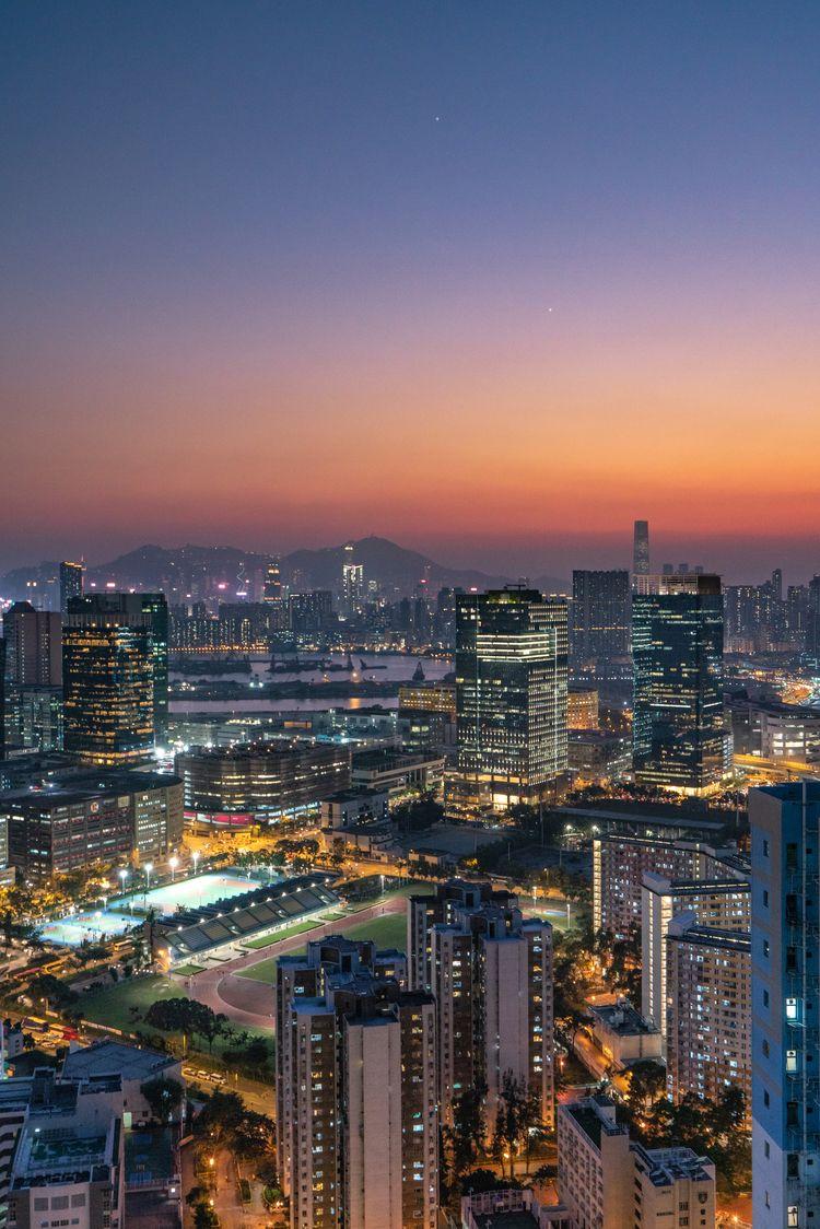 hongkong sunset - jonathan_tsc | ello