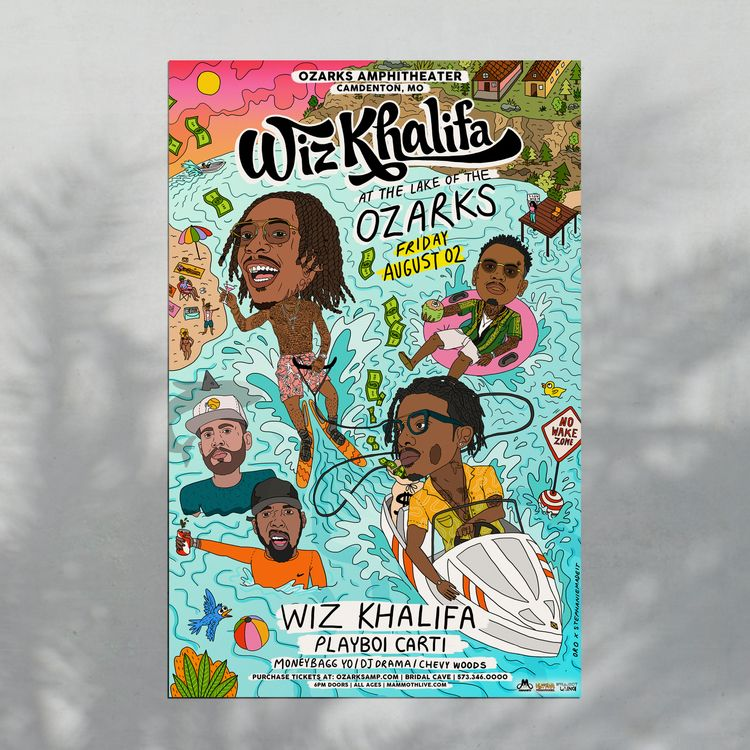 Wiz Khalifa Ozarks Concert. Ste - stephaniemadeit | ello