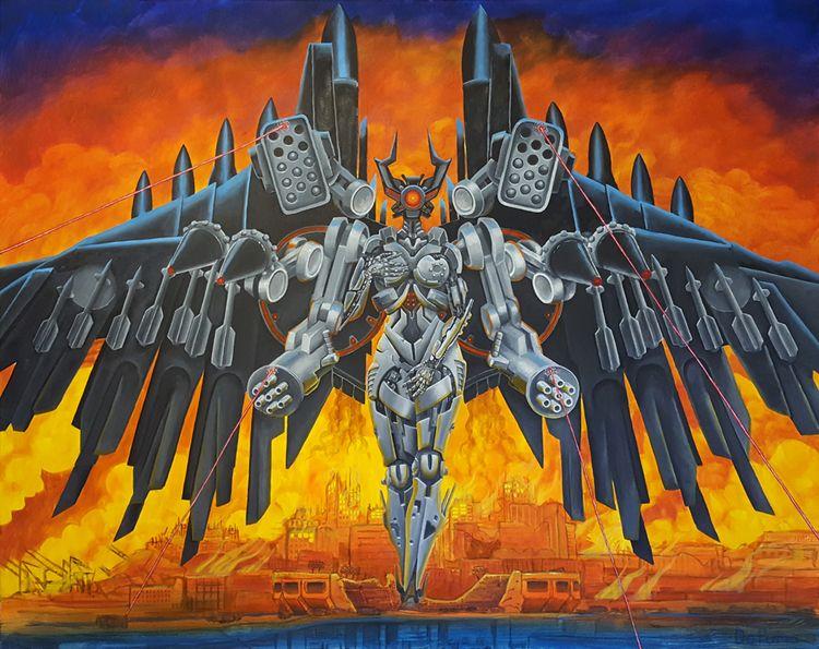 oil canvas, 60 48 nod Botticell - joolz8000   ello