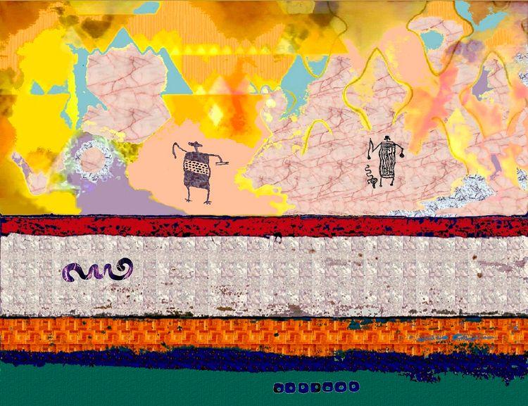Cosmic Figures Forms - vesa25 | ello